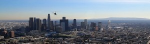 Panorama Helicopter Charter downtown LA